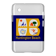 Flag Of Huntington Beach, California Samsung Galaxy Tab 2 (7 ) P3100 Hardshell Case