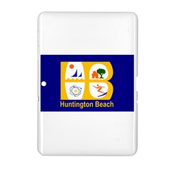 Flag Of Huntington Beach, California Samsung Galaxy Tab 2 (10 1 ) P5100 Hardshell Case