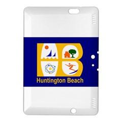 Flag Of Huntington Beach, California Kindle Fire Hdx 8 9  Hardshell Case