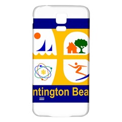 Flag Of Huntington Beach, California Samsung Galaxy S5 Back Case (white)