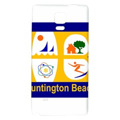 Flag Of Huntington Beach, California Galaxy Note 4 Back Case