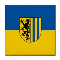 Flag Of Leipzig Tile Coasters
