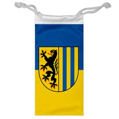 Flag Of Leipzig Jewelry Bags