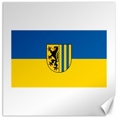 Flag Of Leipzig Canvas 16  X 16