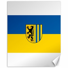 Flag Of Leipzig Canvas 11  X 14
