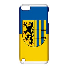 Flag Of Leipzig Apple Ipod Touch 5 Hardshell Case With Stand