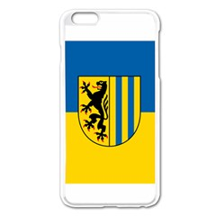 Flag Of Leipzig Apple Iphone 6 Plus/6s Plus Enamel White Case