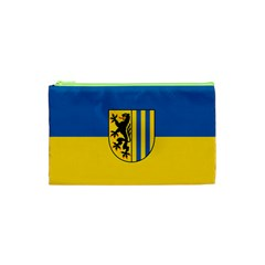 Flag Of Leipzig Cosmetic Bag (xs)