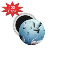 Animated Nature Wallpaper Animated Bird 1 75  Magnets (100 Pack)