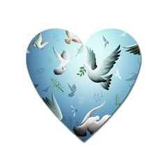 Animated Nature Wallpaper Animated Bird Heart Magnet