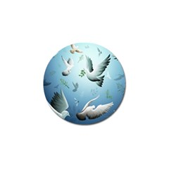 Animated Nature Wallpaper Animated Bird Golf Ball Marker (4 Pack)