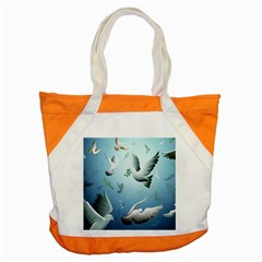 Animated Nature Wallpaper Animated Bird Accent Tote Bag