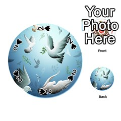 Animated Nature Wallpaper Animated Bird Playing Cards 54 (round)