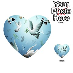 Animated Nature Wallpaper Animated Bird Playing Cards 54 (heart)