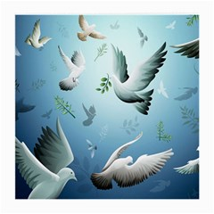 Animated Nature Wallpaper Animated Bird Medium Glasses Cloth (2 Side)