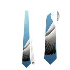 Animated Nature Wallpaper Animated Bird Neckties (one Side)