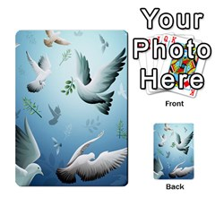 Animated Nature Wallpaper Animated Bird Multi Purpose Cards (rectangle)