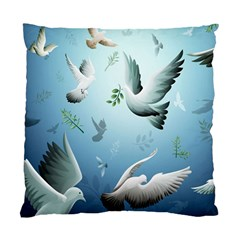 Animated Nature Wallpaper Animated Bird Standard Cushion Case (one Side)