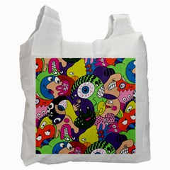 Another Weird Pattern Recycle Bag (two Side)