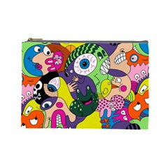 Another Weird Pattern Cosmetic Bag (large)