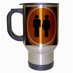 Bad Good Excellen Travel Mug (silver Gray)