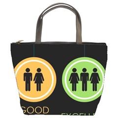 Bad Good Excellen Bucket Bags