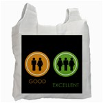 Bad Good Excellen Recycle Bag (One Side) Front