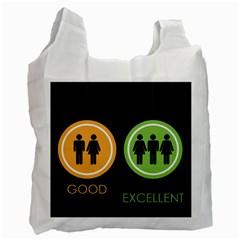 Bad Good Excellen Recycle Bag (two Side)
