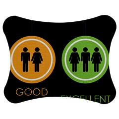 Bad Good Excellen Jigsaw Puzzle Photo Stand (Bow)