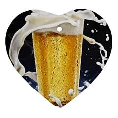 Beer 1 Ornament (heart)
