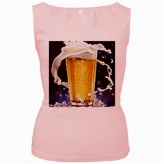 Beer 1 Women s Pink Tank Top