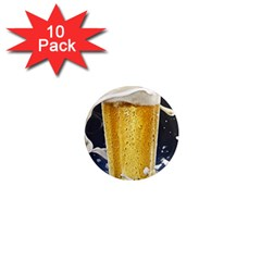 Beer 1 1  Mini Magnet (10 Pack)