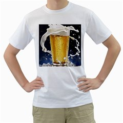 Beer 1 Men s T Shirt (white) (two Sided)