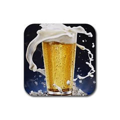 Beer 1 Rubber Coaster (square)