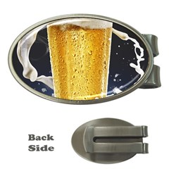 Beer 1 Money Clips (oval)