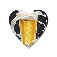 Beer 1 Heart Magnet