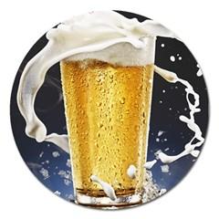 Beer 1 Magnet 5  (round)