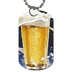 Beer 1 Dog Tag (one Side)