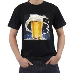 Beer 1 Men s T Shirt (black) (two Sided)