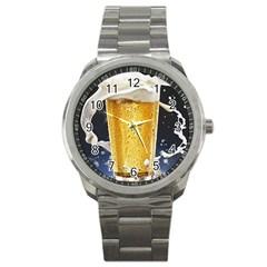Beer 1 Sport Metal Watch
