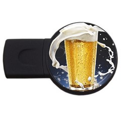 Beer 1 Usb Flash Drive Round (4 Gb)