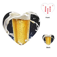 Beer 1 Playing Cards (heart)
