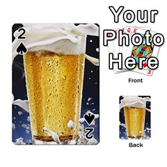 Beer 1 Playing Cards 54 Designs