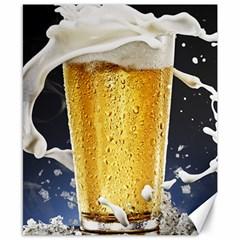 Beer 1 Canvas 8  X 10