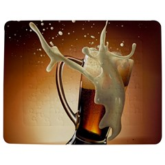Beer Wallpaper Jigsaw Puzzle Photo Stand (Rectangular)