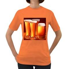 Beer Wallpaper Wide Women s Dark T Shirt