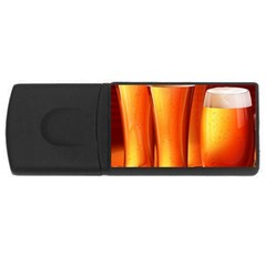 Beer Wallpaper Wide Usb Flash Drive Rectangular (4 Gb)