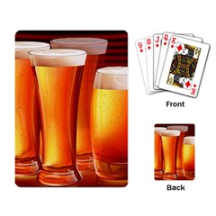 Beer Wallpaper Wide Playing Card