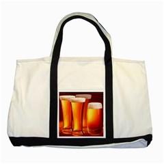Beer Wallpaper Wide Two Tone Tote Bag