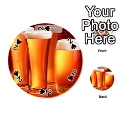 Beer Wallpaper Wide Playing Cards 54 (round)
